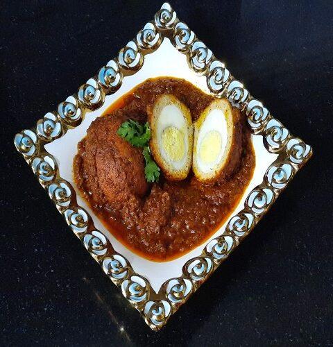 Nargisi Kofta, mughlai nargisi kofta recipe, Nargisi Kofta Curry, chicken nargisi kofta